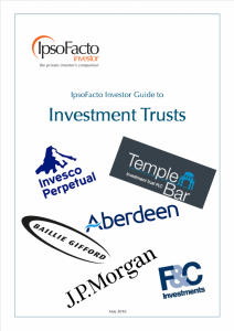 investment trust for the independent investor