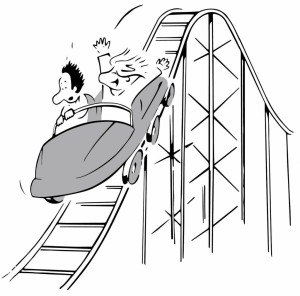 IpsoFacto Investor gives investment advice to try to eliminate the roller coaster effect